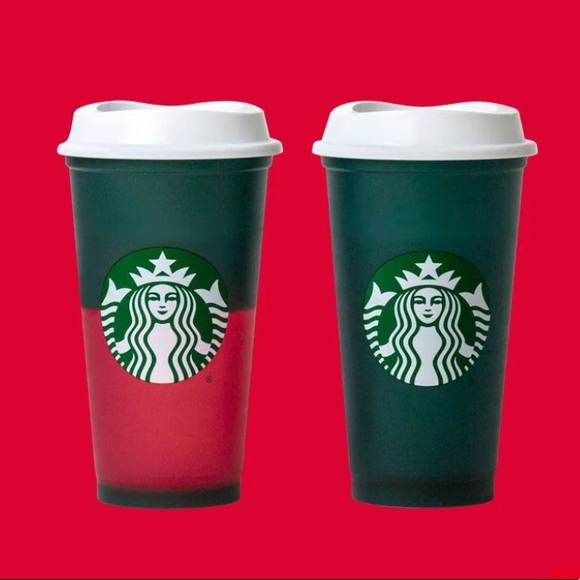Starbucks 2020 Holiday Hot Cup Colour Changing